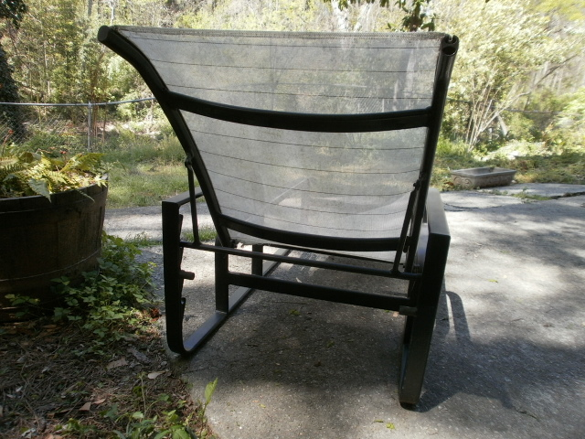 Brown jordan quantum patio chaise lounge chair ebay for Brown and jordan chaise lounge